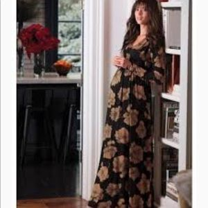 Rachel Pally Long Caftan Maxi Maternity Dress